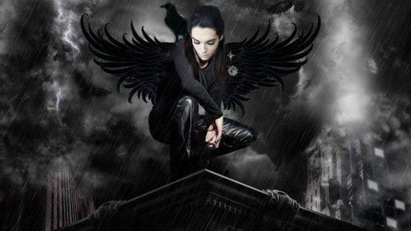dans fond ecran ange noir d752933b